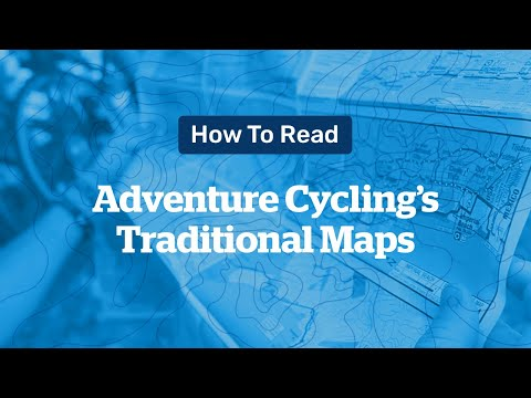 How To Read Adventure Cycling's Traditional Maps