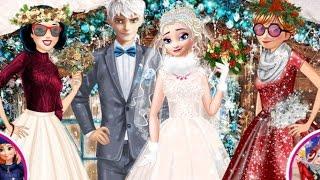 Princess Winter Wedding Ideas (Принцессы Диснея зимняя свадьба Эльзы)