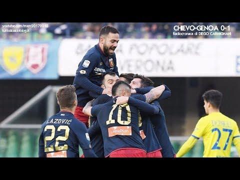 CHIEVO-GENOA 0-1 - Radiocronaca di Diego Carmignani (11/2/2018)  da Rai Radio 1