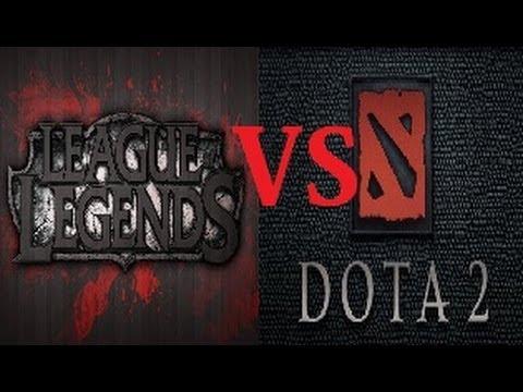 видео: Что лучше dota 2 vs league of legends (Дота 2 против lol)