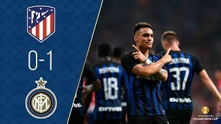 Atletico De Madrid vs Inter De Milan | 0-1 | All Goals & Highlights