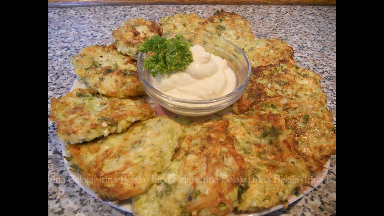 оладьи из кабачков с сыром рецепты с фото простые и вкусные
