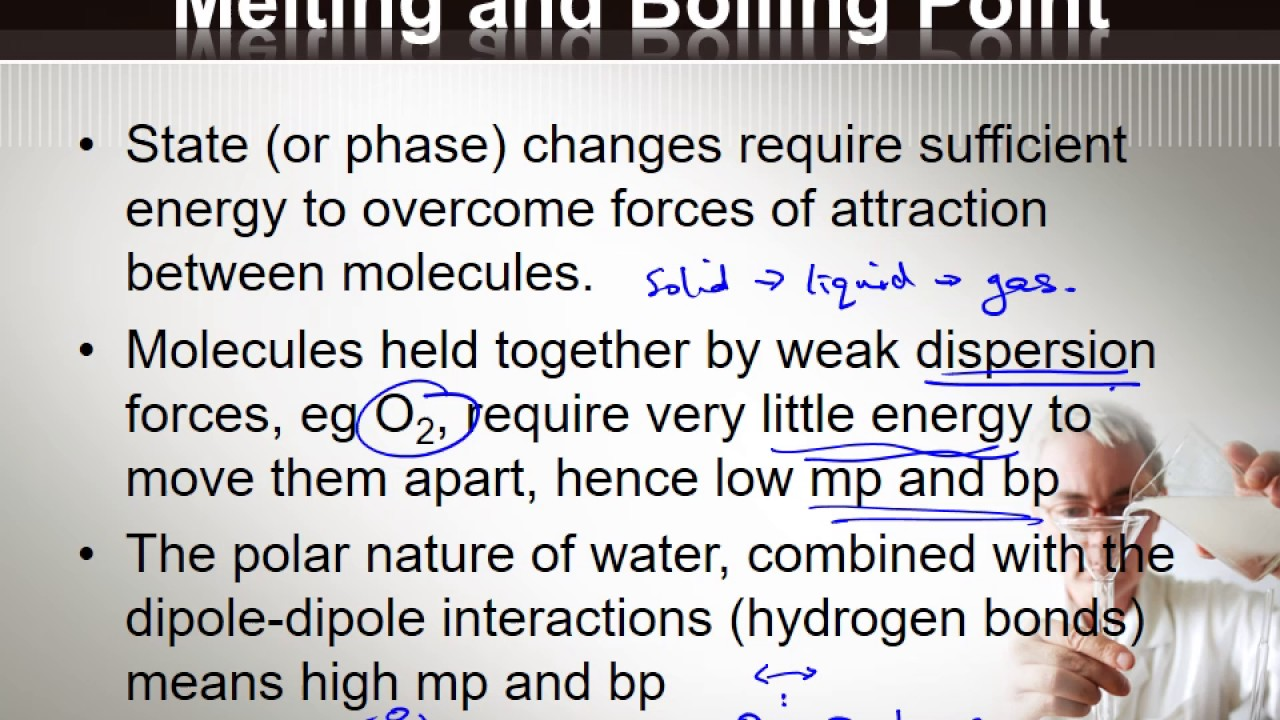 w7 physical properties of water