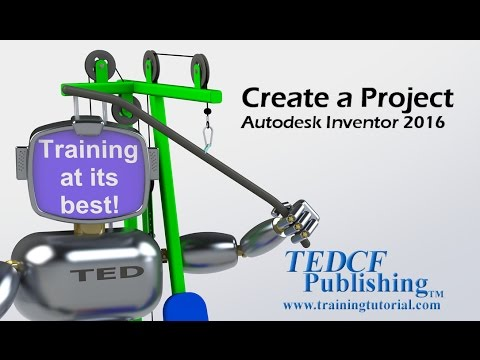 Create a Project - Autodesk Inventor 2016