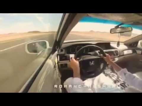 CRAZY SAUDI DRIFTING ON HIGHWAY - 240km/h...