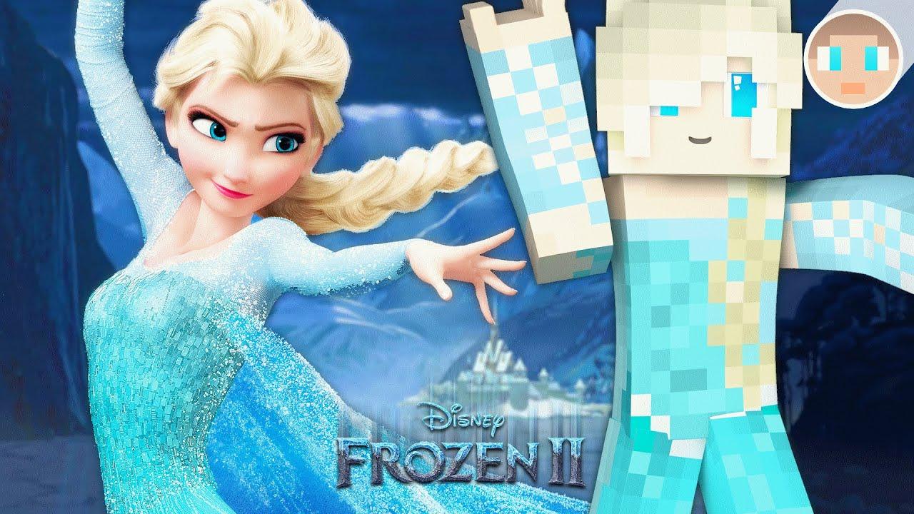 Frozen  Let It Go  Minecraft - Skin Pack