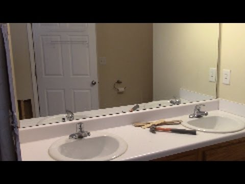 How To Remove Mirror Off Wall Safely