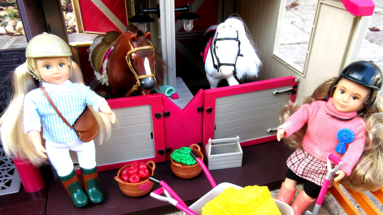 Lori Horse Stable Dolls Amp Horses By Our Generation
