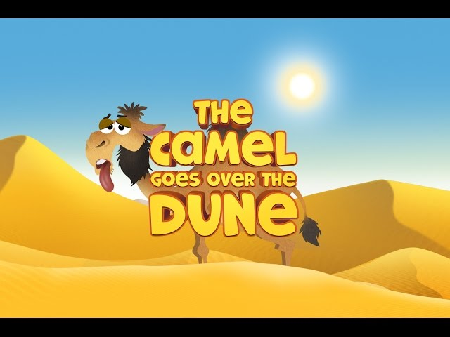Nursery Rhymes | Tiny Tunes | The Camel Goes Over The Dune