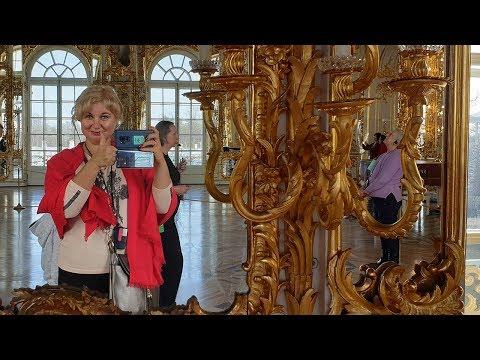 ПИТЕР Едем в Екатерининский дворец: РЕАЛЬНОСТЬ ПРЕВЗОШЛА ОЖИДАНИЯ!