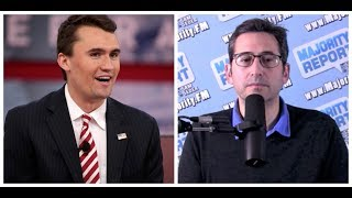 Charlie Kirk VS Sam Seder from the Majority Report Debate at Politicon