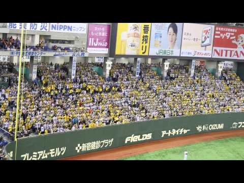 阪神タイガース マット・マートン応援歌 東京ドーム
