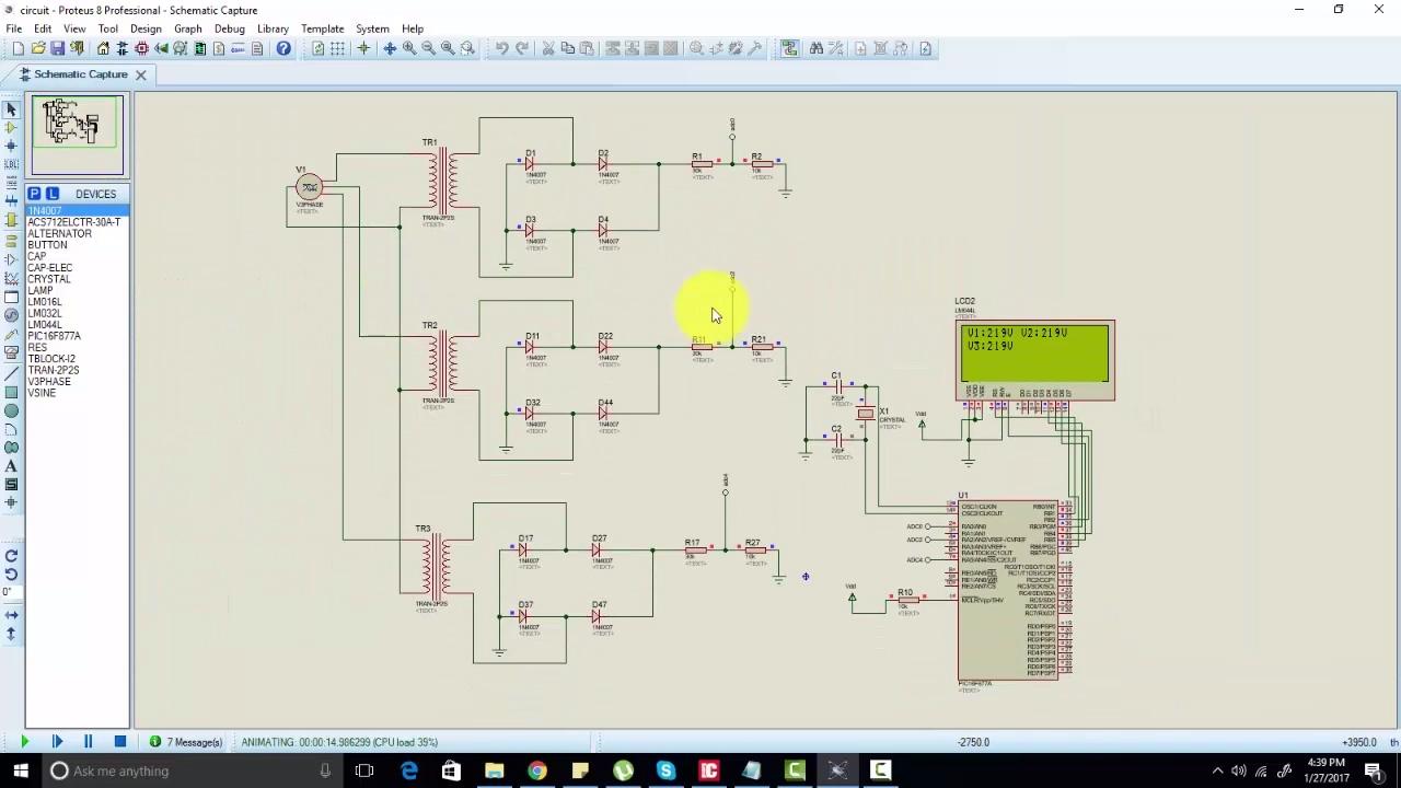 Three phase voltage measurement for generator transformer