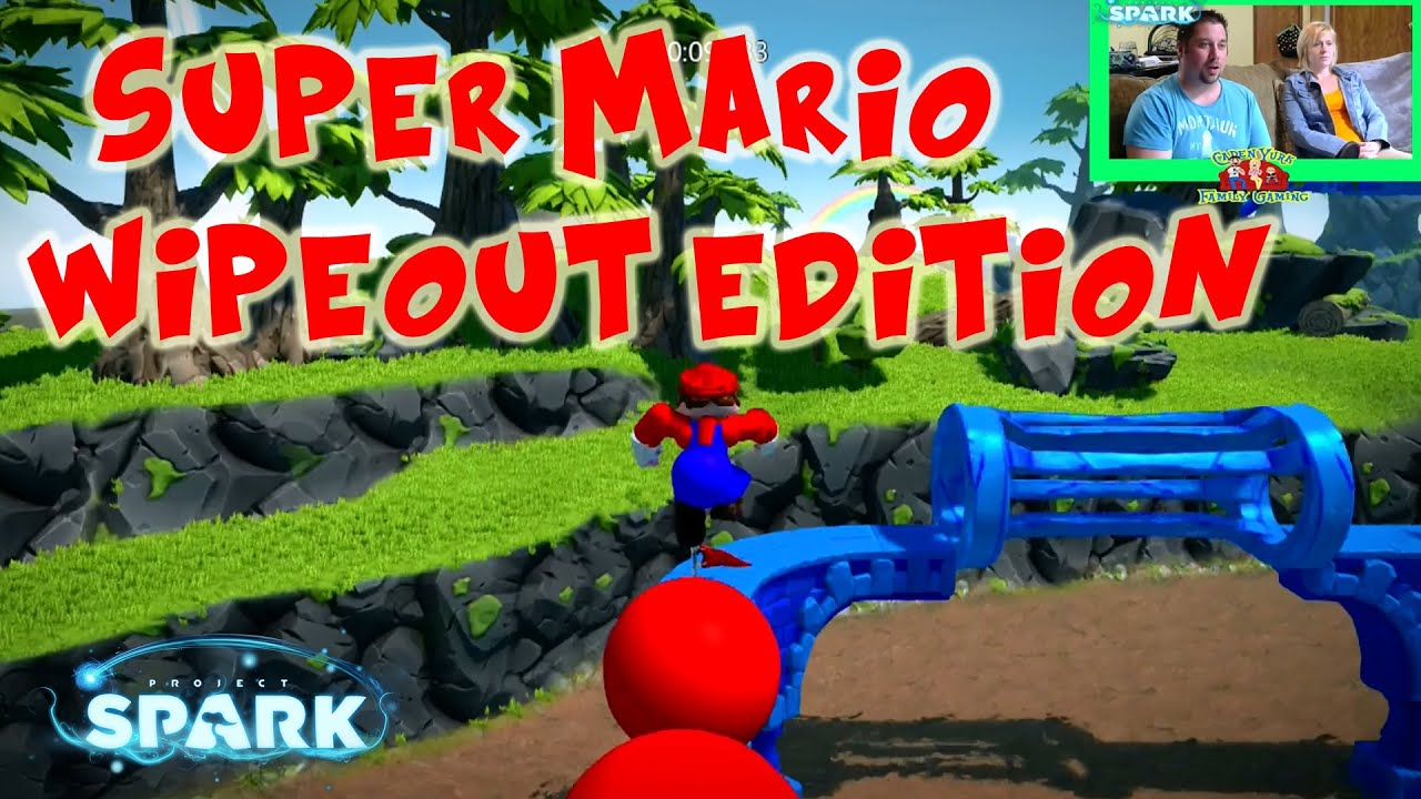 Mario Games For Xbox 1 : Super mario wipeout edition project spark community
