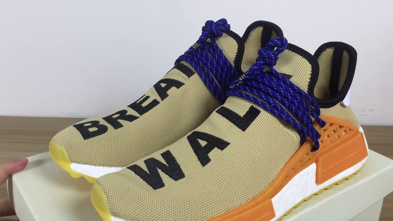 "Pharrell adidas NMD Hu ""WALK"" and ""BREATH"""