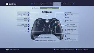 Fortnite Xbox one - How to change the new controller settings back to the standard after upadte