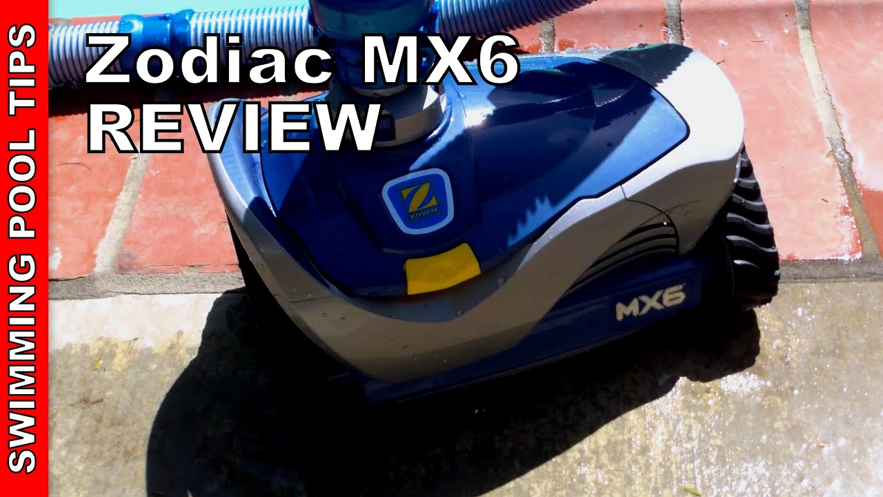 Poolreinigung Zodiac Zodiac Mx6 Pool Cleaner Review