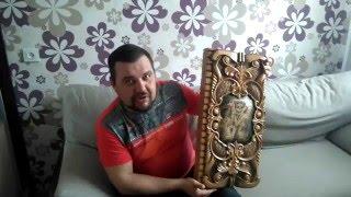 Отзыв Павла Терехова о нардах на заказ по его эскизам