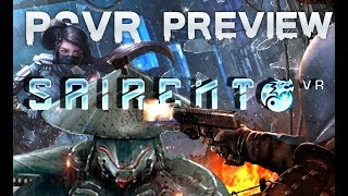 Sairento VR (PSVR) preview | a mix of Raw Data and Superhot!