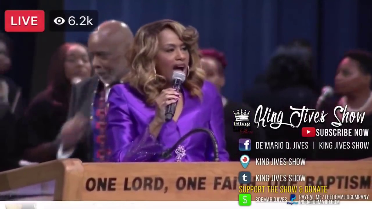 Aretha Franklin Funeral Praise Break and Ending