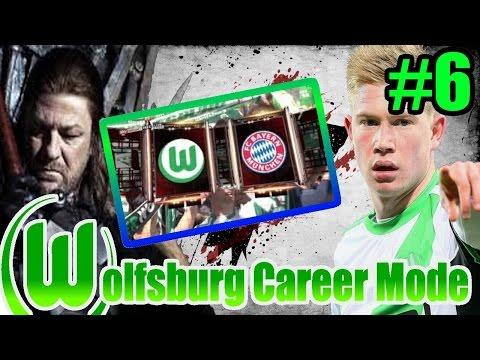 Wolfsburg VfL Career Mode Ep. 6: Bayern Munich Showdown!
