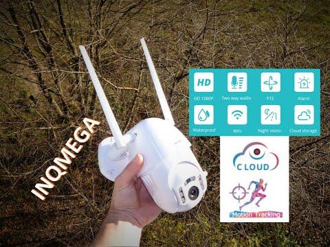 Бюджетная WI-FI PTZ IP камера INQMEGA 1080P. Обзор+ТЕСТ/AliExpress