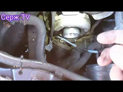 Замена флянша на турбине - W203 C270
