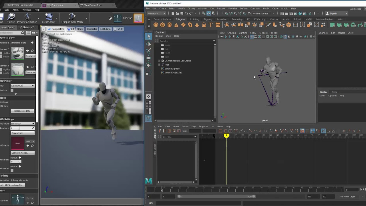 Connecting Unreal Engine 4 to Maya with Live Link | Unreal