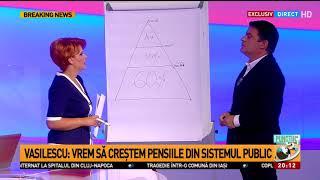 Lia Olguța Vasilescu, detalii despre legea pensiilor
