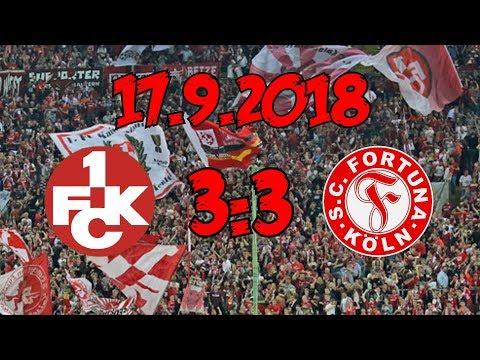 1. Fc Kaiserslautern 3:3 FC Fortuna Köln – 17.9.2018 – Eine gefühlte Niederlage