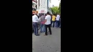 Ankara Güvenpark'ta minibüs duraklarında sivil polis ile vatandaşlar arasında kavga