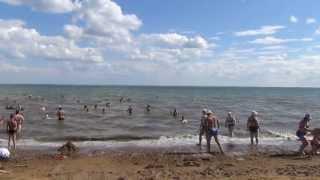 Яровое солёное озеро алтая 20 и 21 и 22 июля 2013 года. Yarovoye salt lake Altai July 20, 2013.