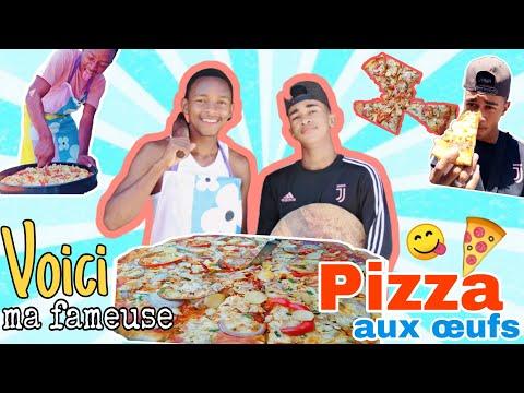 """je-vous-prÉsente-ma-fameuse-""""pizza""""-aux-Œufs-!!!!!"""