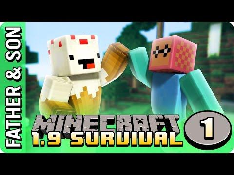 Minecraft 1.9 Survival (#1) Our Island