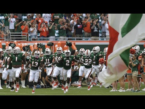 Miami Hurricanes Highlights VS Savannah State