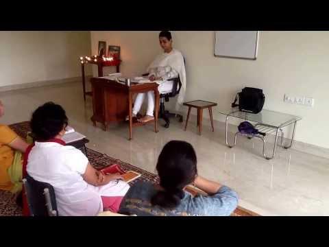 Mrs Niloofer Giri Bhagavad Gita Ch 6 Verses 5-8 Pune morning Class Sun 25 Aug 2013 PART 1