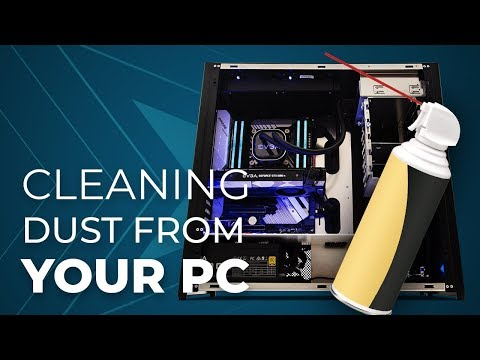 How to clean dust from your PC