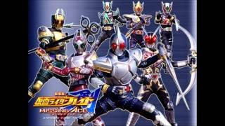 Kamen Rider Blade( ending 3) take it a try