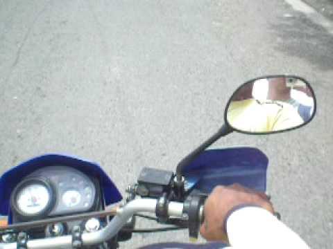 Trajet à moto, de Panglao vers le terminal de bus de Tagbilaran, Bohol, Philippines