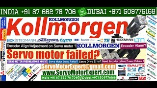 How to check Kollmorgen Repair Heidenhain servo motor encoder Food Print Pack Resolver Drive problem