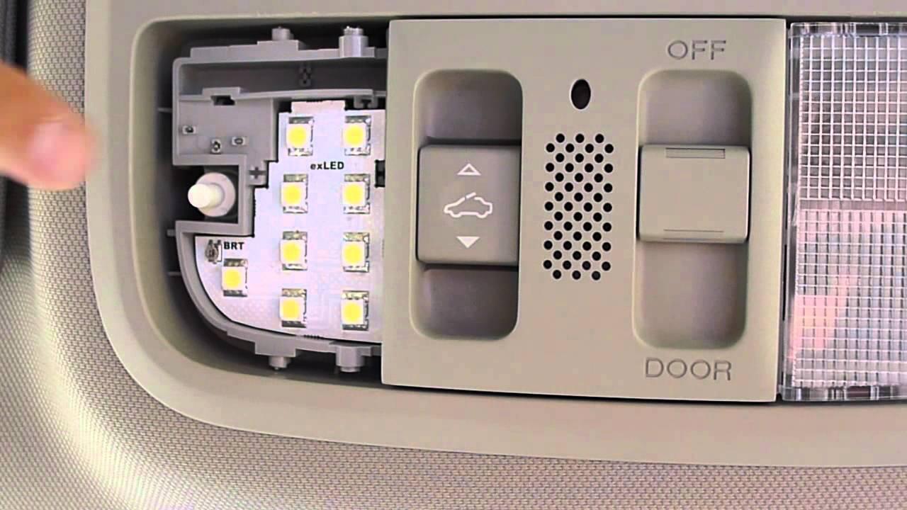 Fuse Box 1995 Exled Custom Interior Light Kit Map Light Acura Tsx Cu2