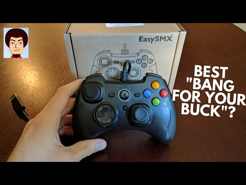 Best Budget PC Controller? | EasySMX Wired Controller Review
