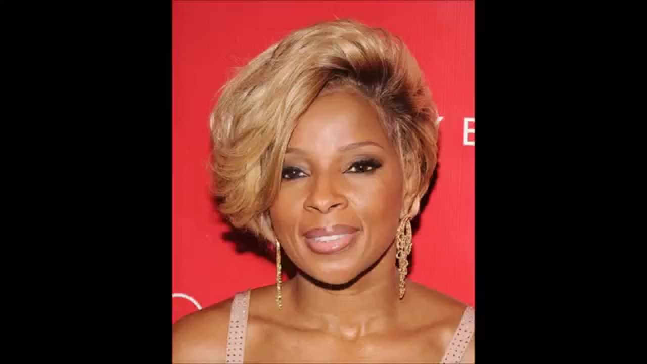 MARY J BLIGE HAIRSTYLES - YouTube