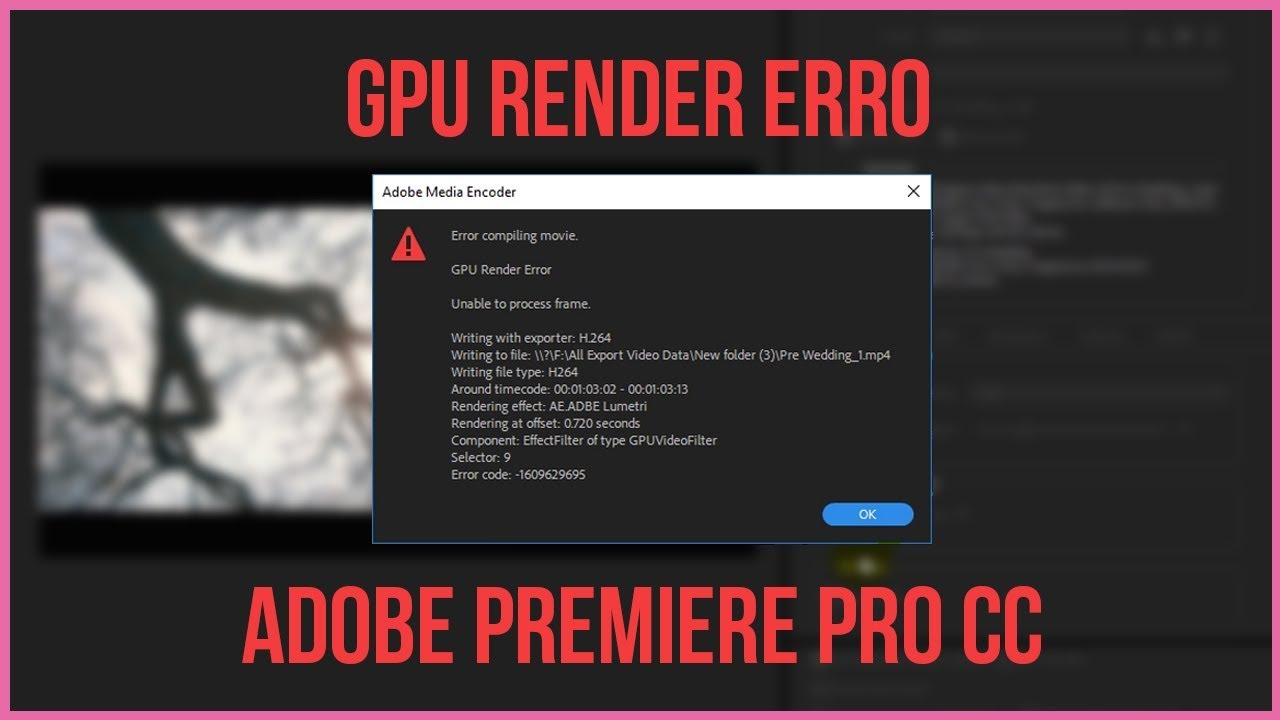 ae rendering error while writing to file