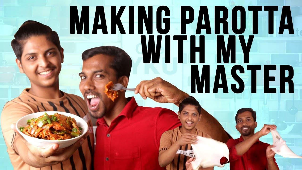 Download Parotta Recipe in Tamil  | Chilli Parotta in Tamil | Homemade Parotta with my MasterChef