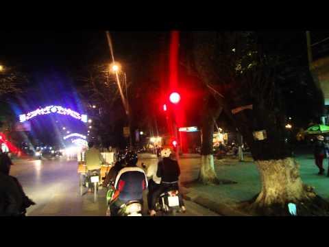 Đua xe Liberty đêm phố Nam Định