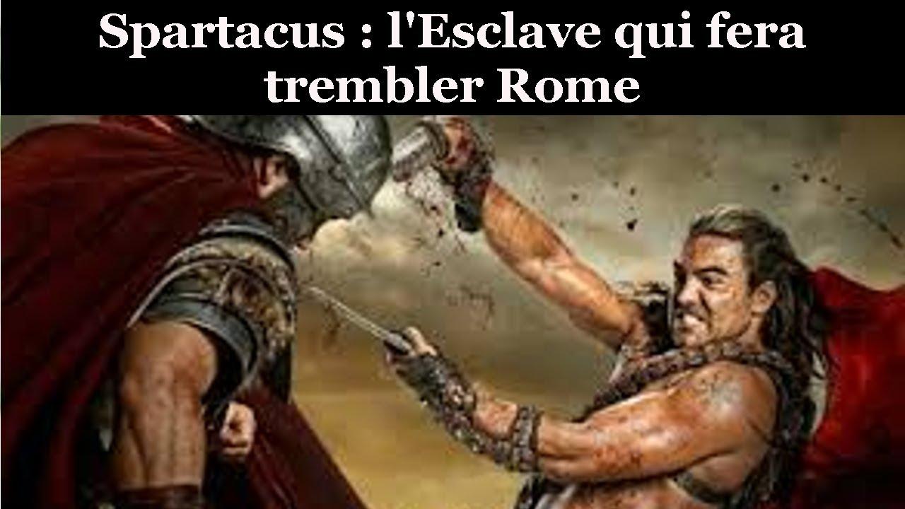 Filme Spartacus inside documentaire : spartacus, l'histoire d'un esclave qui fit trembler