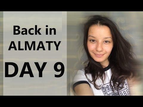 30 Days in Kazakhstan Vlog Day 9 (Sanitary Inspection, Antique Cars, and Big Apples)
