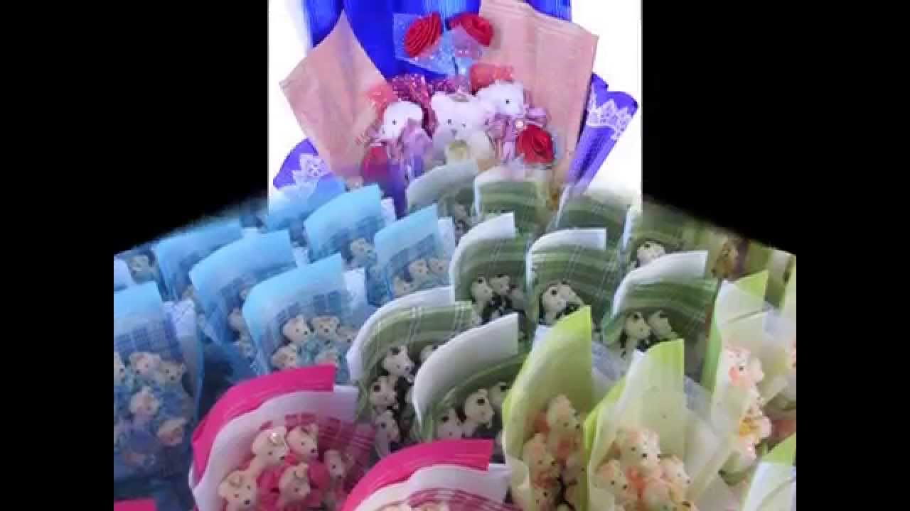 Soft Plush Doll Flower Bouquet Gift - YouTube