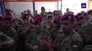 جلالة الملك يلتقي نشامى ونشميات الجيش العربي (8-3-2019)
